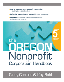 Oregon Nonprofit Corporation Handbook.